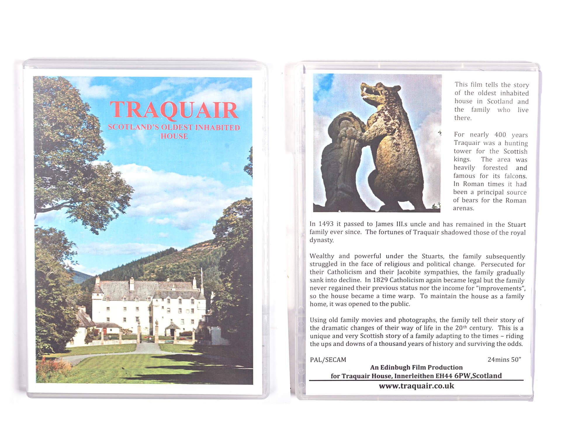 Traquair History DVD